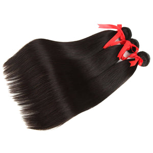 natural brazilian straight human hair 3 bundles