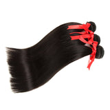 natural brazilian straight human hair 3 bundles wave
