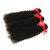 natural culy human hair 3 bundles