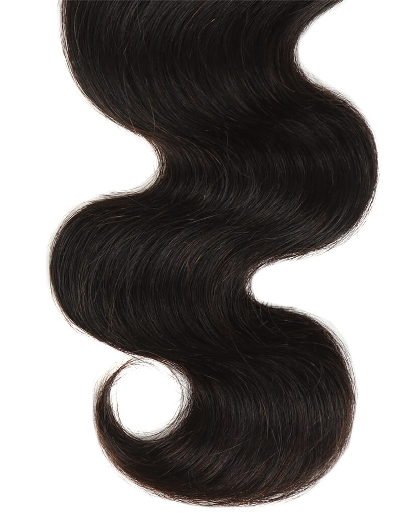 natural boby wave human hair bundle end