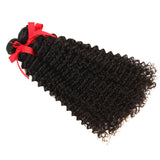 natural curly human hair 3 bundles side