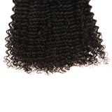natural curly human hair 3 bundles end