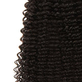 natural curly human hair 3 bundles detail