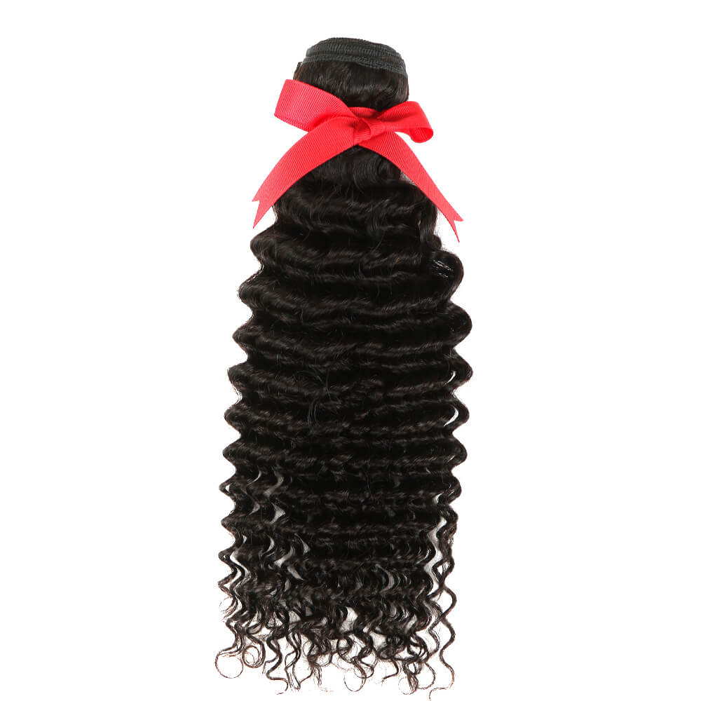 Natural Human Hair curly bundle