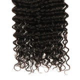 Natural Human Hair curly bundle end