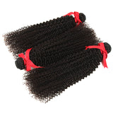 natural kinky curly human hair 3 bundles -2