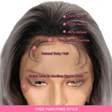 WH Full Lace Wig Body Wave TT1B/SG18