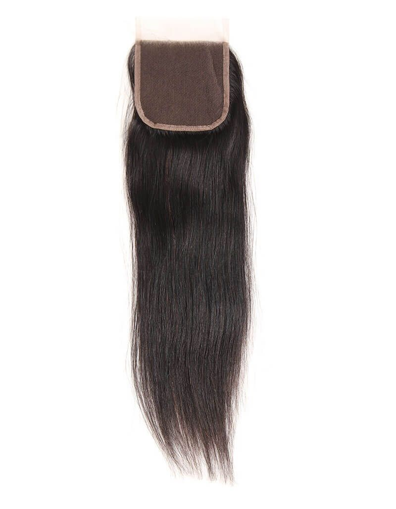 Queen Remy 4X4 Closure Straight