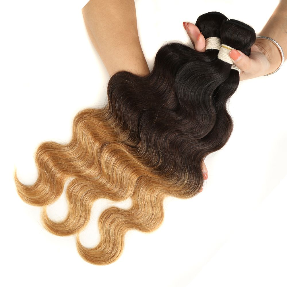 Queen Remy 3 Bundles Body Wave T1B/4/27