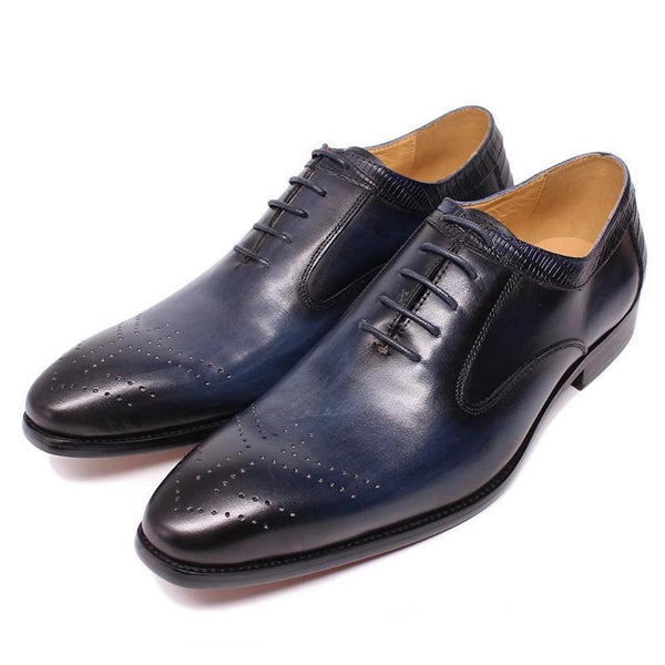 LUXURY BRAND BROGUES MEN GENUINE LEATHER SHOES