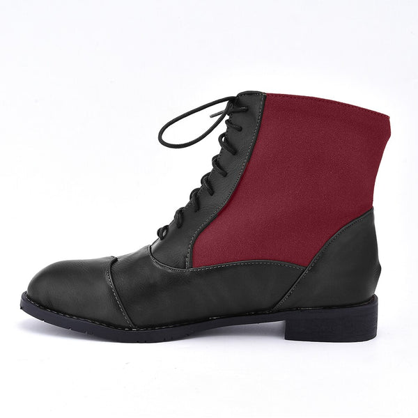 Lace Up Ankle Boots Men Boots