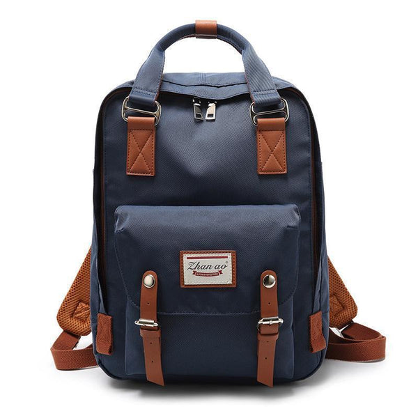 Waterproof Vintage Travel Backpack Backpacks PacksOnBack Tibetan blue Small