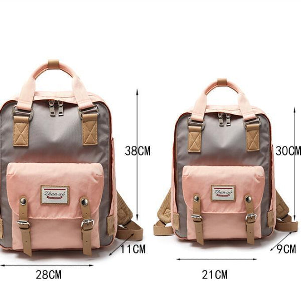 Waterproof Vintage Travel Backpack Backpacks PacksOnBack