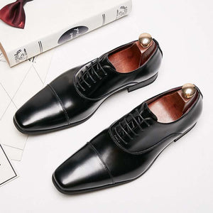 MEN'S LACE-UP BUSINESS SHOES