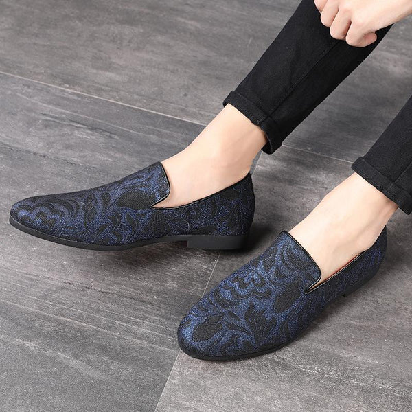 Fashion Embroidery Casual Shoes