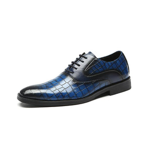 Men's Pointed Oxford Shoes
