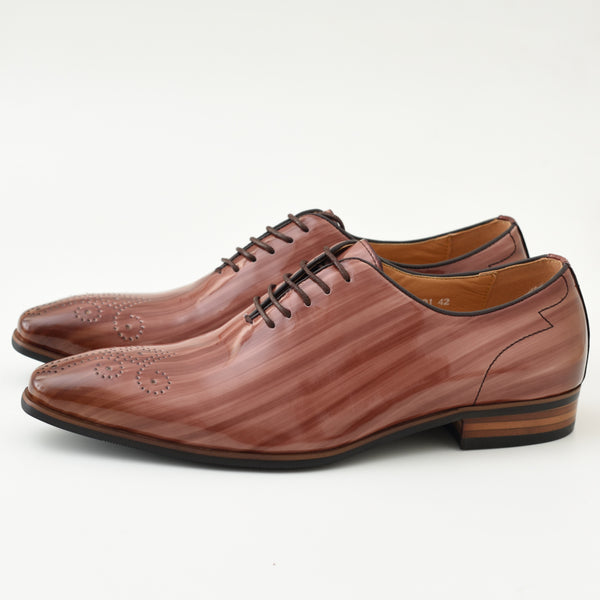 Men's Brown Oxford Fashion Shoes