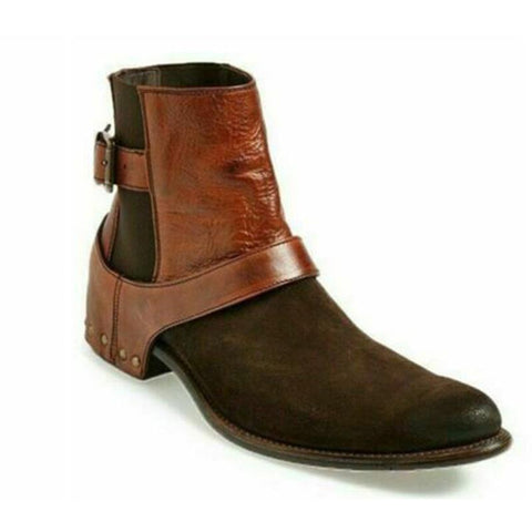 Chelsea Brown Suede Boots