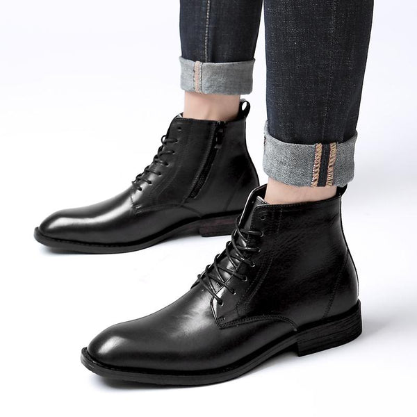 Men's Formal Vintage Casual Leather Boots