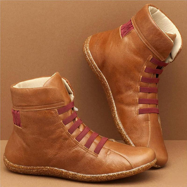 Casual Daily High Top Flat Women ankle Boots