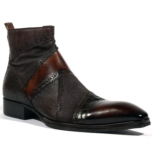 Men's British Fashion High Top Martin Boots