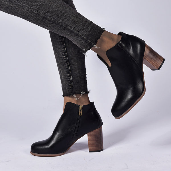 "Women's 3 1/2"" Heel Height Ankle Bppts"