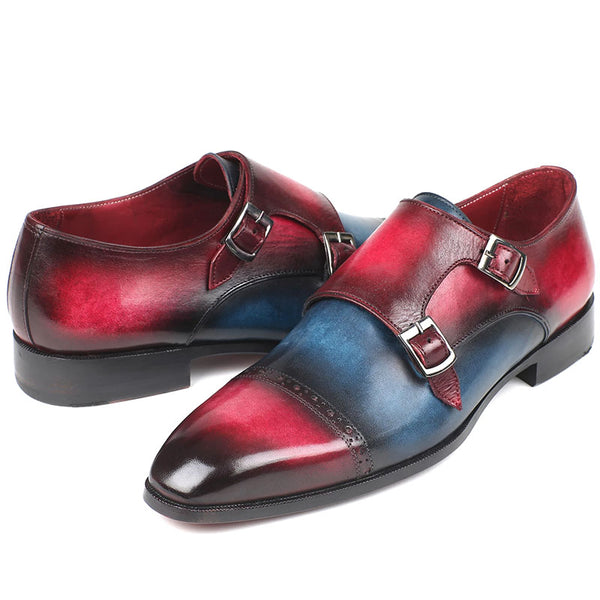 Fashion handmade mixed color shoes
