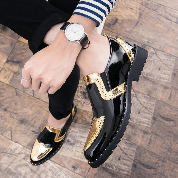 Luxury Bling Oxford Men Dress Shoes