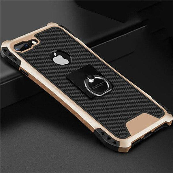 Shockproof Armor Kickstand Phone Case iPhone