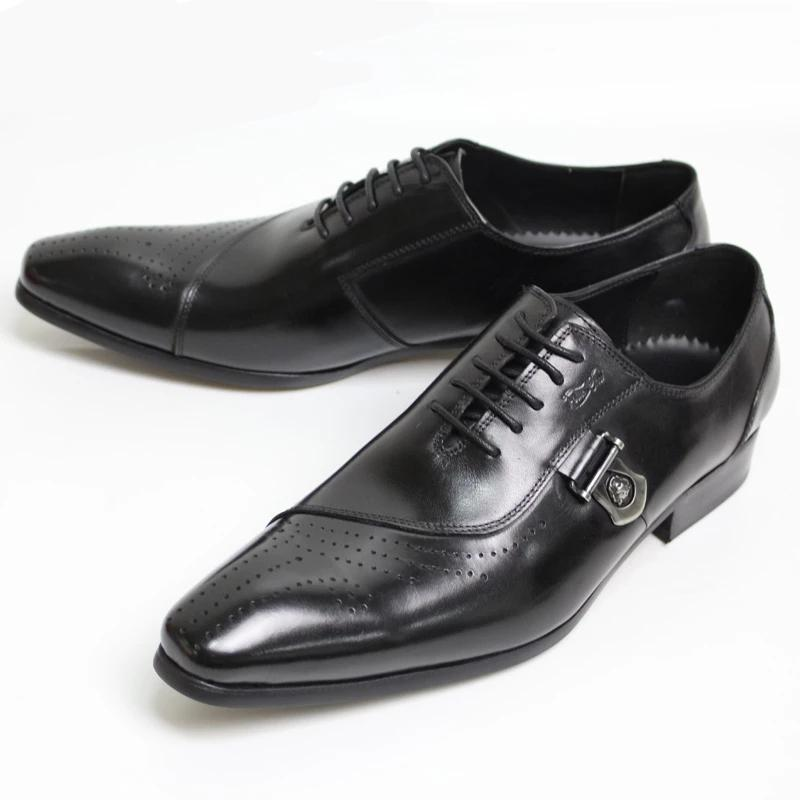LUXURY BRAND ENGLAND MEN LEATHER SHOES