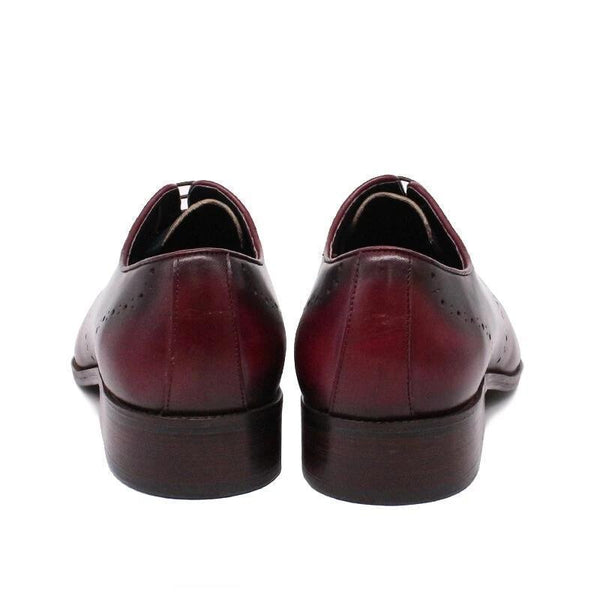 Luxury Italian Men Dress Leather Shoes