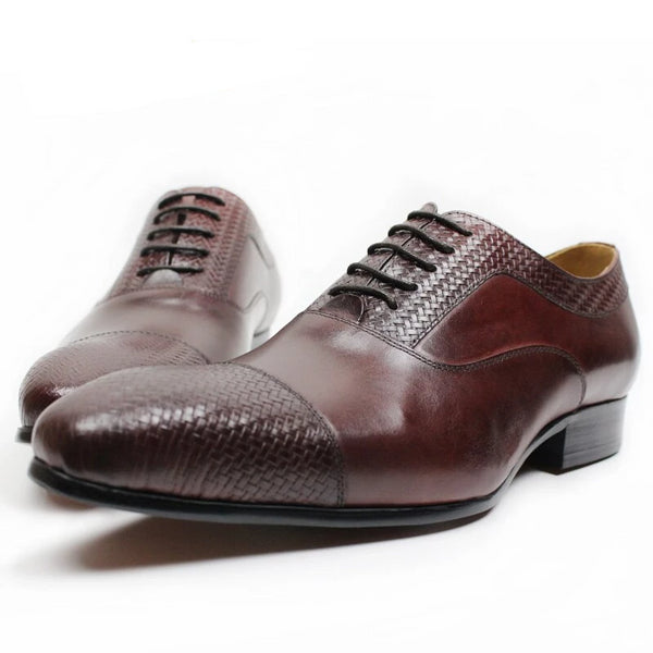 MENS FORMAL SHOES GENUINE LEATHER