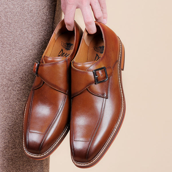 Leather Oxford Shoes For Men