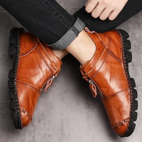 High Quality Genuine Leather Men Boots 2019