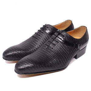 FASHION STYLE MEN LEATHER SHOES