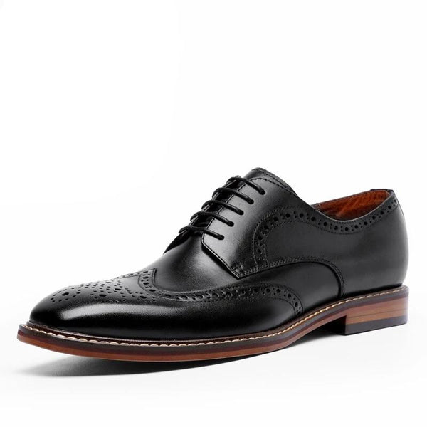 Suede leather oxford shoes For men