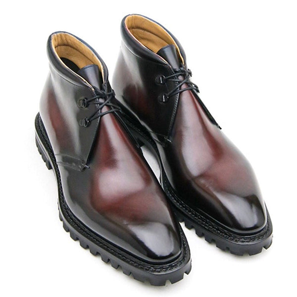 Fashion new men's leather shoes