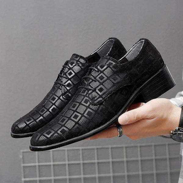 Men Shinning Slip on Dress Shoes