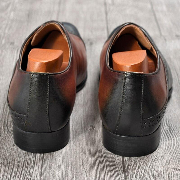 Men's fashion formal pointed shoes