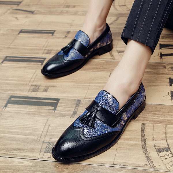 Men's Little Loafer Leather Shoes
