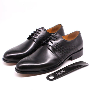 Round Toe Lace-up Oxfords