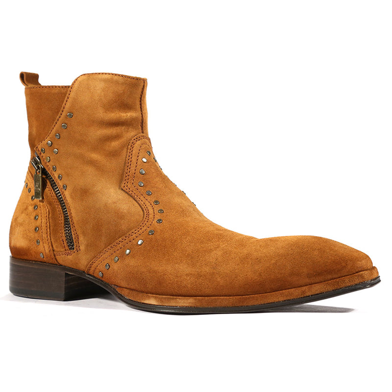 Men's Brown Suede Leather Ankle Boots