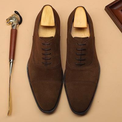 British Stlye Genuine Leather Business Shoes