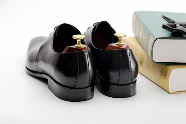 British Genuine Leather Dress Shoes