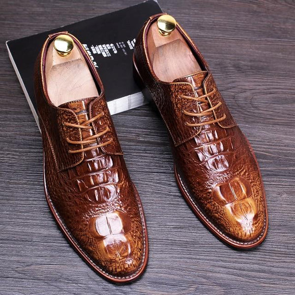 Men's Dress Wedding British Style Shoes