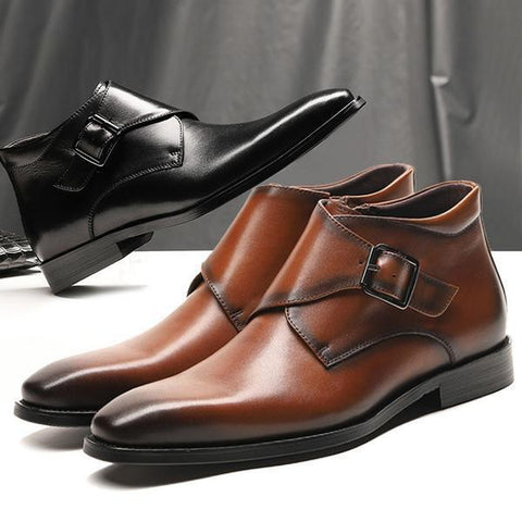 Fashion England Style Men's Business Leather Shoes