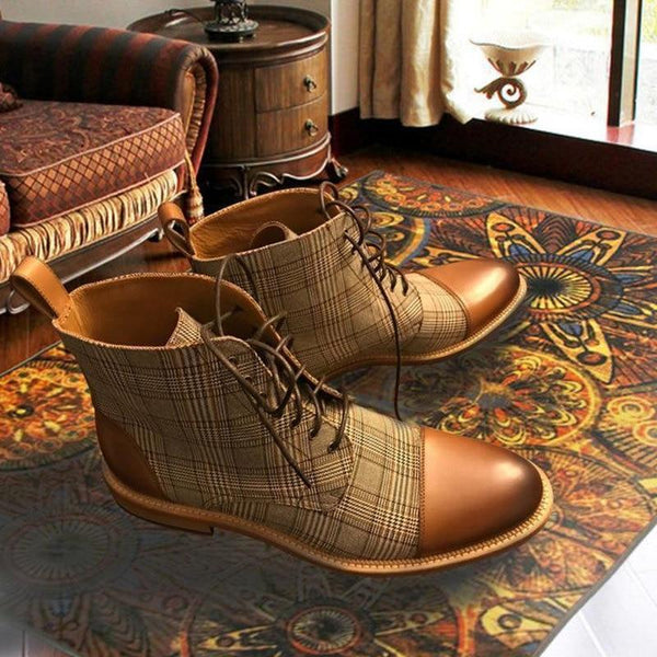 Lace Up Comfortable Breathable Boots