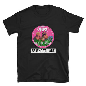 Be Who You Are T-Shirt Full Color