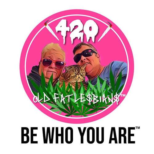 Be Who You Are Stickers/Slaps 3-Pack