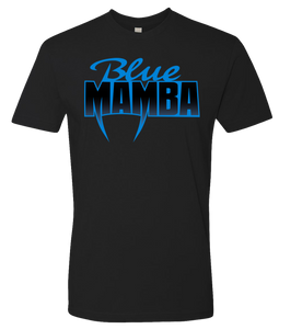 Official Blue Mamba Logo T-shirt